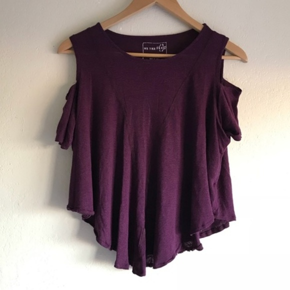 31e45bb0bd23b9 Free People Tops | 525we The Free Cold Shoulder Top | Poshmark